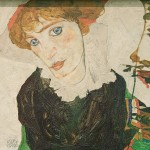 Portrait de Walburga Neuzil (Wally) (1912)