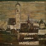 Stein1 sur le Danube II. Egon Schiele, 1913