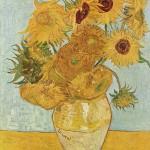 Vase avec douze tournesols (Arles, août 1888).